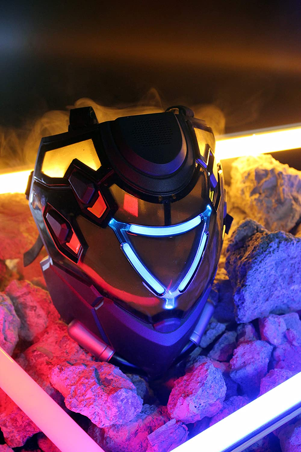 25. Overwatch Ana Shrike LED Glowing Mask / Cosplay Helmet (Officially licenced)