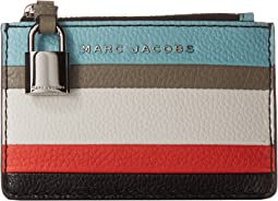 The Grind Color Blocked Top Zip Wallet
