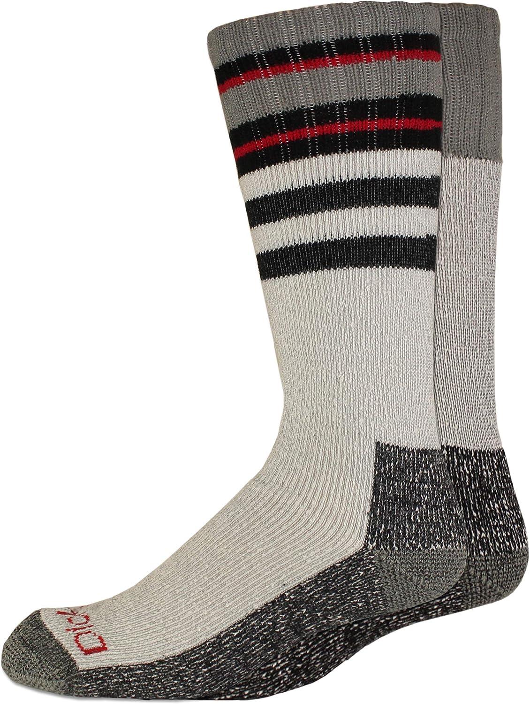 Dickies Mens 2 Pack High Bulk Acrylic Thermal Boot Crew Socks