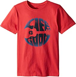 Life is Good Kids Groovy Guitar Crusher Tee (Little Kids/Big Kids)