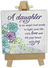 Abbey Gift Daughter Mini Plaque On Easel