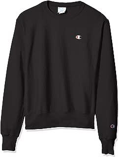 Champion LIFE Men's Reverse Weave Sweatshirt, Black, Large