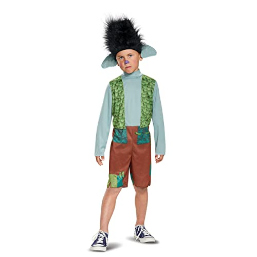 Dreamworks Trolls Movie Branch Boys Deluxe Halloween Costume With Wig