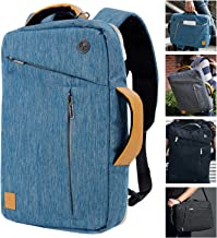 Laptop Tablet Sleeve Case Bag Convertible Backpack Briefcase Crossbody Shoulder Bag for 12.9 Inch iPad Pro, MacBook, Surface Pro 5 4 3, Ultrabook Notebook Chromebook Tablet Computers