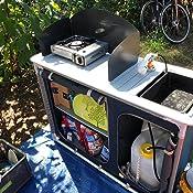 CAMPART Travel Cocina de camping Alicante, Con paravientos ...