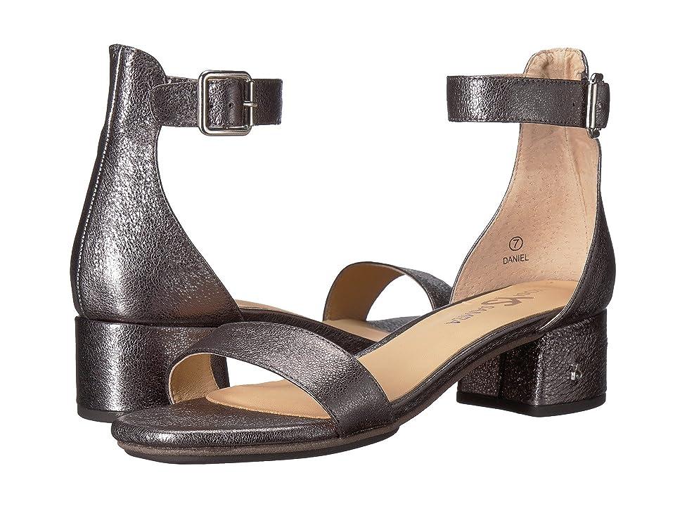 Yosi Samra Daniel (Pewter Metallic Textured Leather) Women