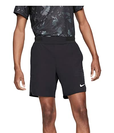 Nike Nike Court Flex Advantage Shorts 7 (Black/White) Men