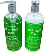 product image for Renpure Tea Tree Mint Body Wash and Body Lotion Bundle (24 Ounces Each)