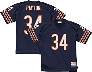 Mitchell & Ness Walter Payton Chicago Bears Dark Navy Throwback Jersey
