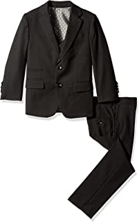Boys' 3 Piece Two Button Birdseye Suit Set
