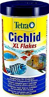Tetra Cichlid Fiocchi Grandi, Mangime Specifico per Pesci Ciclidi, 500 ml