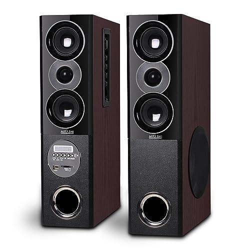 Mitashi TWR 50 Fur Multimedia Tower Speaker (4000 Watts PMPO) with Bluetooth