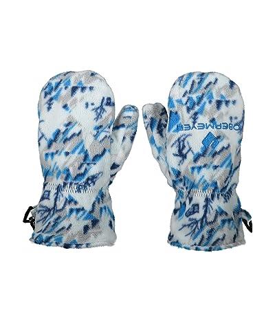 Obermeyer Kids Finley Fleece Mitten (Toddler/Little Kids) (Snosport Sea) Extreme Cold Weather Gloves