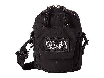 Mystery Ranch Bop (Black) Cross Body Handbags