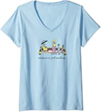 Womens Dr. Seuss Oh the Places You'll Go Everyone is Just Waiting V-Neck T-Shirt