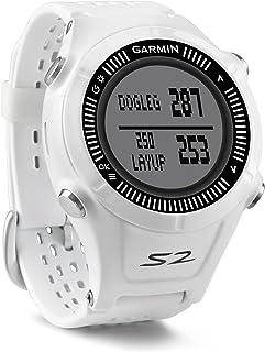Garmin Approach S2GPS Reloj de Golf telémetro Distancia puntuación Disparo Contador Digital (Certificado Reformado)