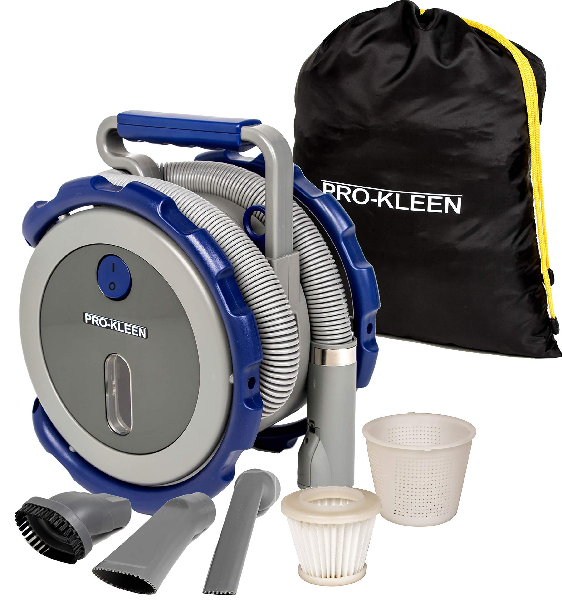 Pro Kleen 262232 12V Car Vacuum Cleaner Handheld Portable