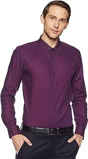 Park Avenue Men's Plain Slim Fit Formal Shirt