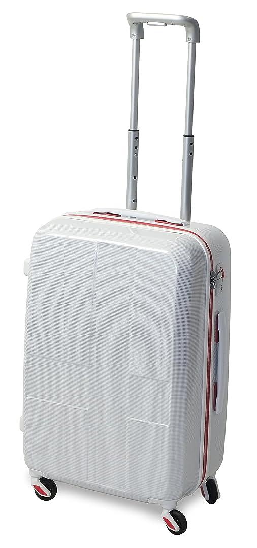 ひもそこヒューマニスティック[イノベーター] スーツケース ジッパー INV55 消音/静音キャスター 保証付 50L 62 cm 3kg