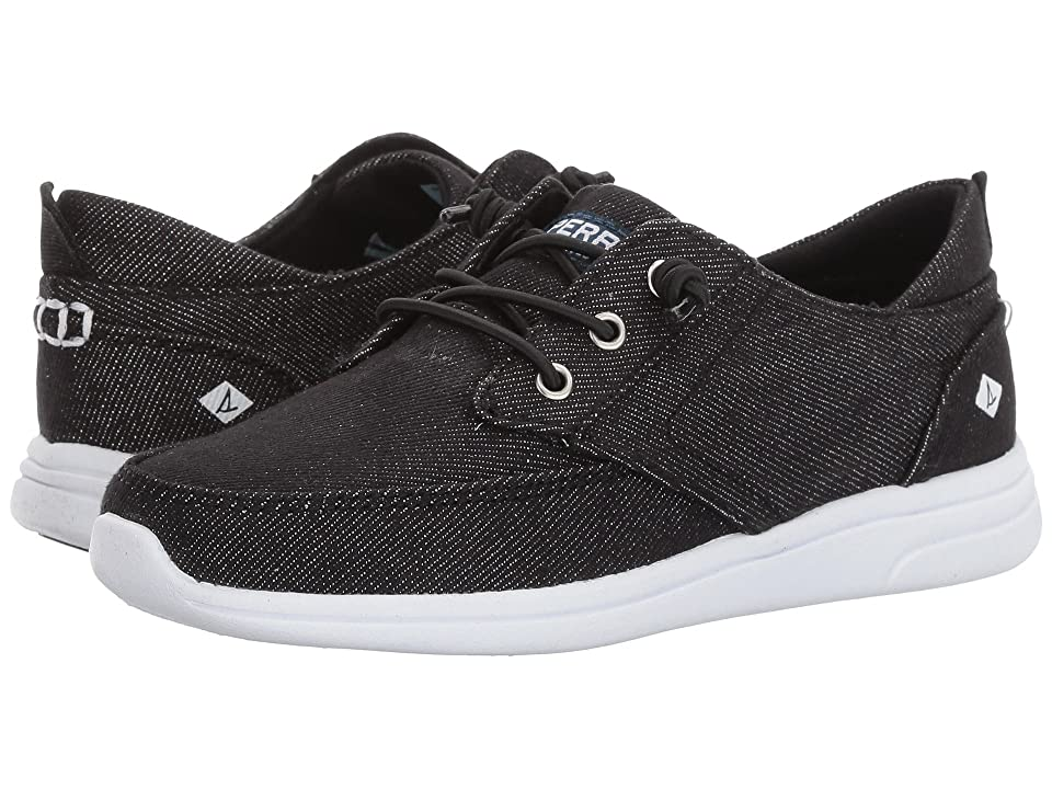 Sperry Kids Baycoast (Little Kid/Big Kid) (Black) Girls Shoes
