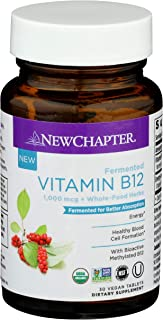 New Chapter Fermented Vitamin b12, 30 Count