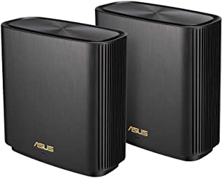 ASUS ZenWiFi AX Whole-Home Tri-Band Mesh WiFi 6 System (XT8) - 2 Pack, Coverage up to 5,500 sq.ft or 6+Rooms, 6.6Gbps, WiF...