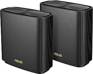 ASUS Zenwifi XT8 Mesh Wi-Fi System, Black