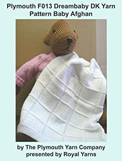 Plymouth F013 Dreambaby DK Yarn Pattern Baby Afghan (I Want To Knit)
