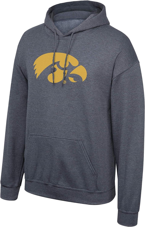 Elite Fan Shop Fan Favorite Dark Heather Icon Hoodie Sweatshirt