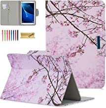 Dteck Universal Case for 7.5-8.5 Inch Tablet - Slim Light Pretty Folio Pocket Stand Case Cover for iPad Mini 7.9 Inch 2019/Samsung/Kindle/Huawei/Lenovo/Nook/Android 8.0 8.4 Inch-Pink Floral