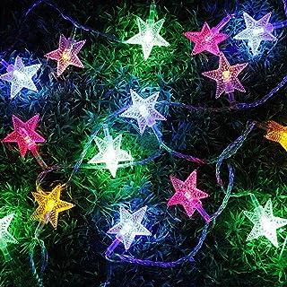 PragAart Pvc Christmas Decoration String Light (3.5 m, Multicolour)