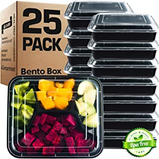 plastic container with 4 compartments