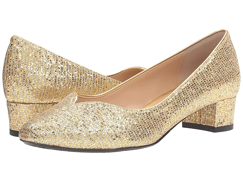 J. Renee Bambalina (Gold) Women's Shoes