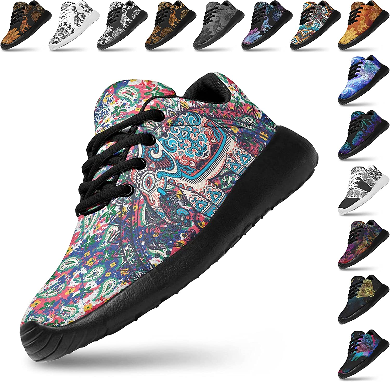 5 ☆ very popular Max 48% OFF Artful Vibes Womans Lightweight Fashion Jogging Athletic Sneaker