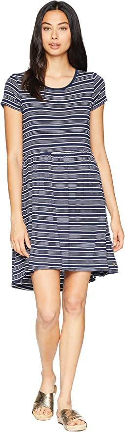 Dress Blues Horizontal Stripes