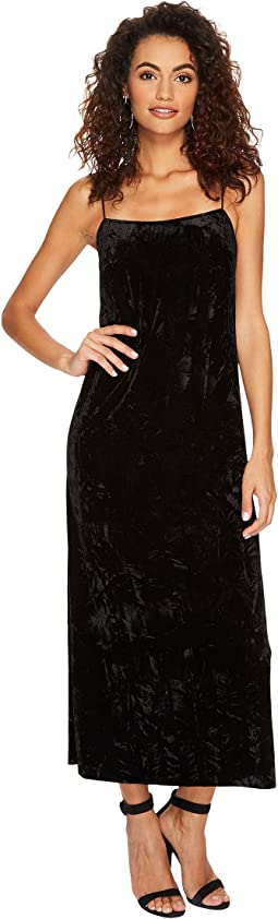 kensie - Crushed Velvet Maxi Dress KSNU7059