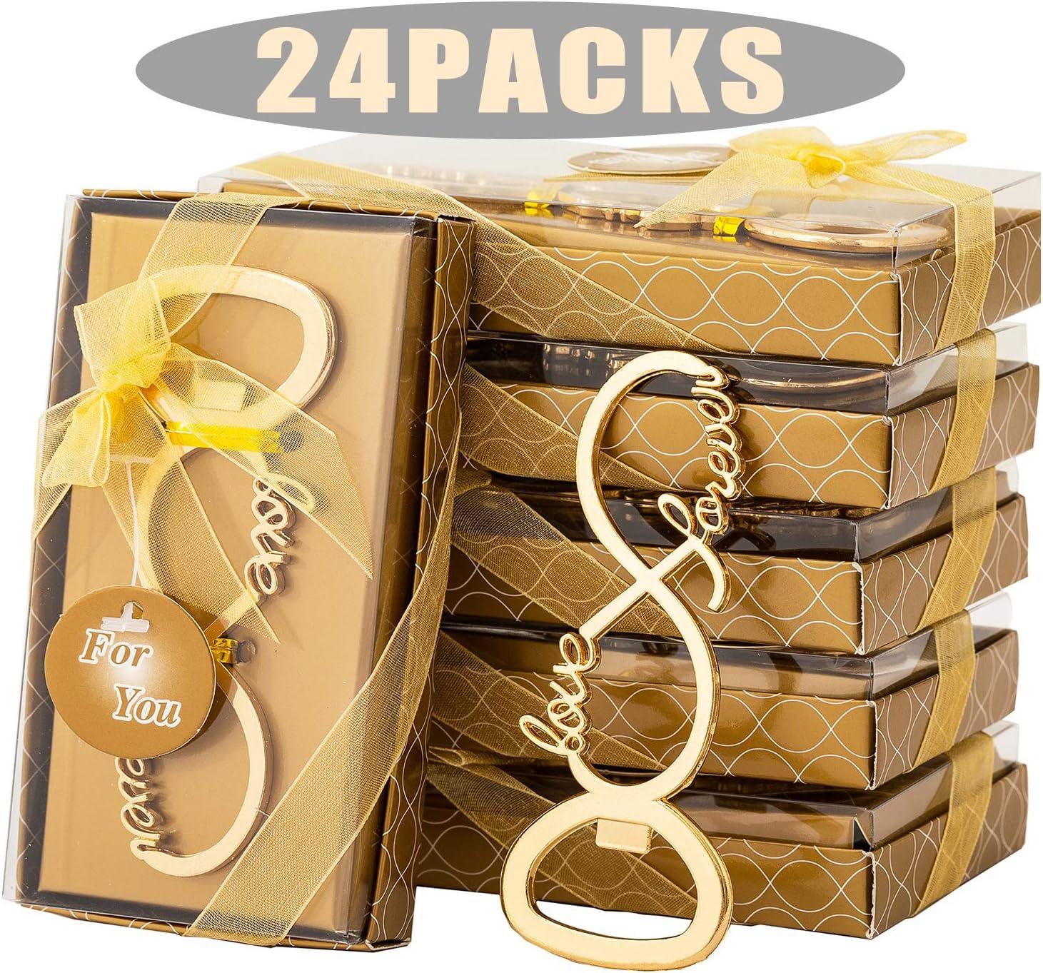 24 Pcs Sales for sale Love forever Design Bottle for Ranking TOP3 Wedding Bridal Openers Sho