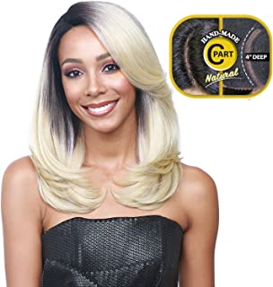 Bobbi Boss Synthetic Hair Lace Front Wig MLF135 Swiss Lace C Part Claudia (FS1B/30)