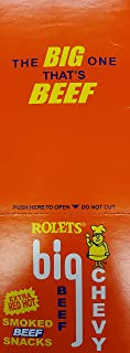 Rolets Hot Big Beef Chevy Beef Sticks 36 count