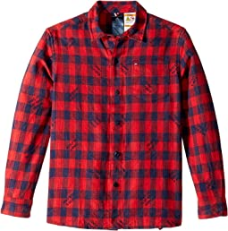 Statement Plaid Shirt (Little Kids/Big Kids)