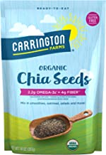 Carrington Farms Organic Chia Seeds, Gluten Free, USDA Organic, 14 Ounce