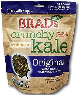 Brad's Crunchy Kale Probiotic Crisps- Original Vegan Cheeze