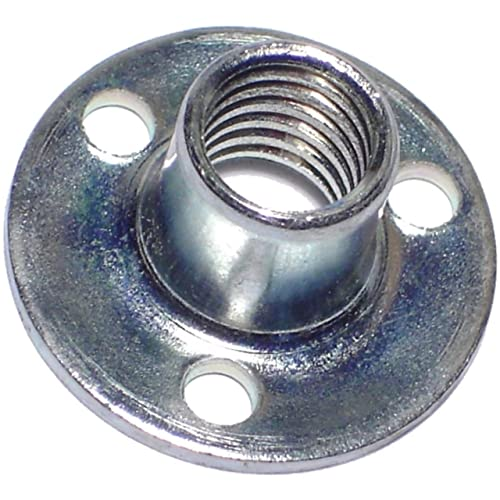 The Hillman Group 180294 Pronged Tee Nut 10-Inch by 24-Inch 100-Pack