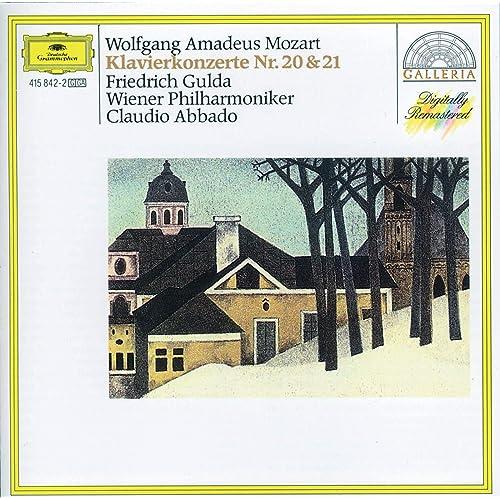 Mozart Piano Concertos Nos 20 21 By Friedrich Gulda Wiener Philharmoniker Claudio Abbado On Amazon Music Amazon Com
