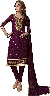 Panash Trends Women's Georgette Embroidery Salwar Suit