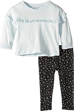 Star Print Leggings Set (Infant)