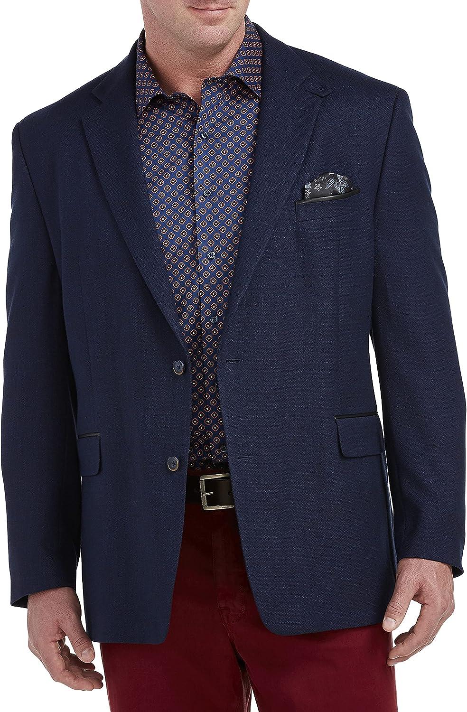 Tallia Orange Solid Sport Coat, Blue