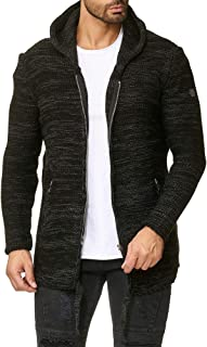 Redbridge Double Layer Hoodie Knitted Pullover Sweatshirt Hooded Sweater