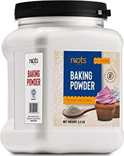 Roots Circle Baking Powder | Gluten-Free All-Purpose Leavening Agent For Cooking and Baked Goods, Desserts, Breads, & Cake...