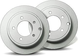 Front Premium Geomet rust protected Brake Rotors R40096C | Fits: Accord CR-V